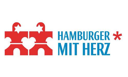 Hamburger mit Herz - Partner | Route 4 Logo